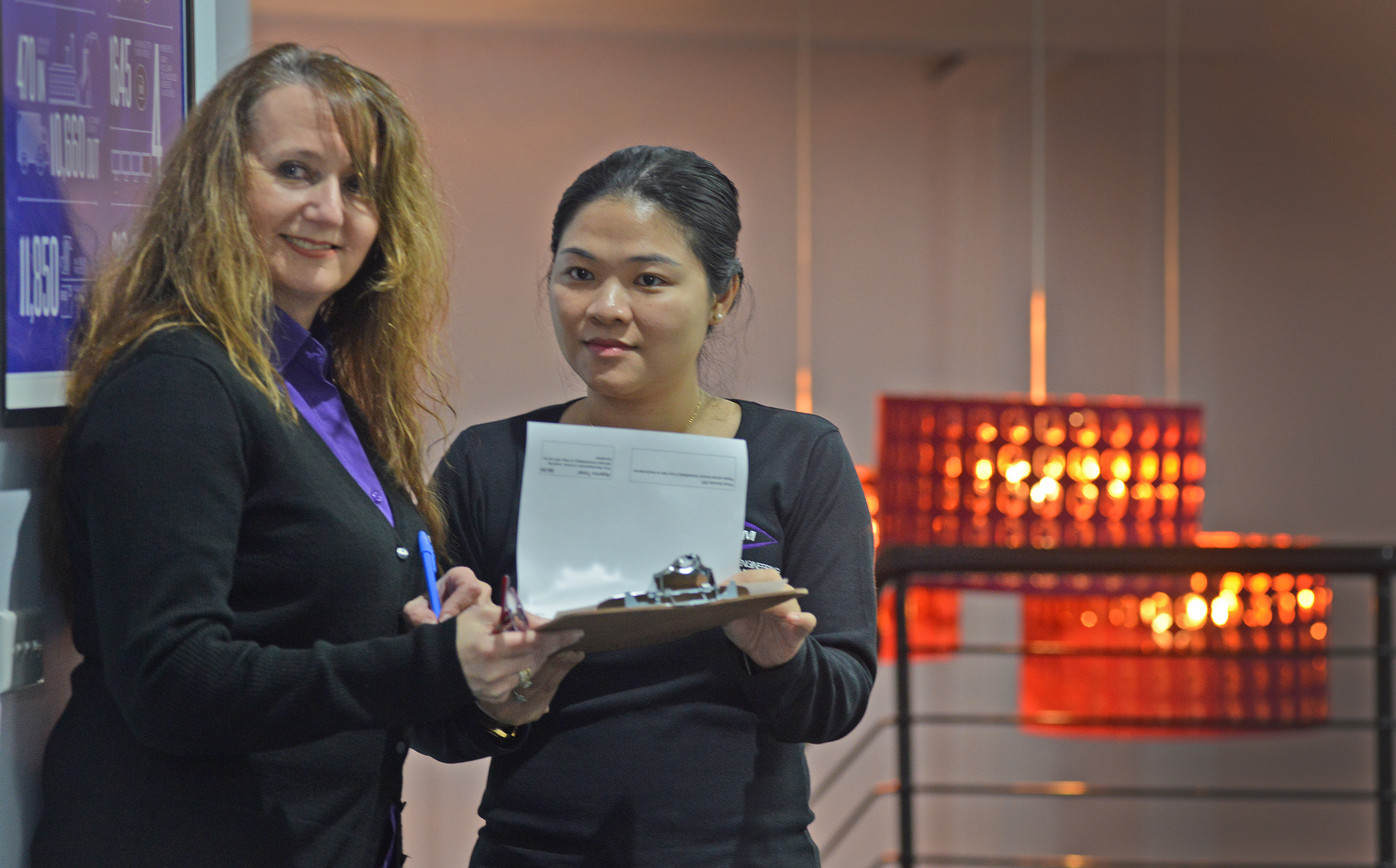 Freda Efstathiou and Lori Zhang