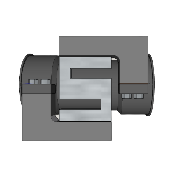 Diagram of ADM load cell based torque measurement solution