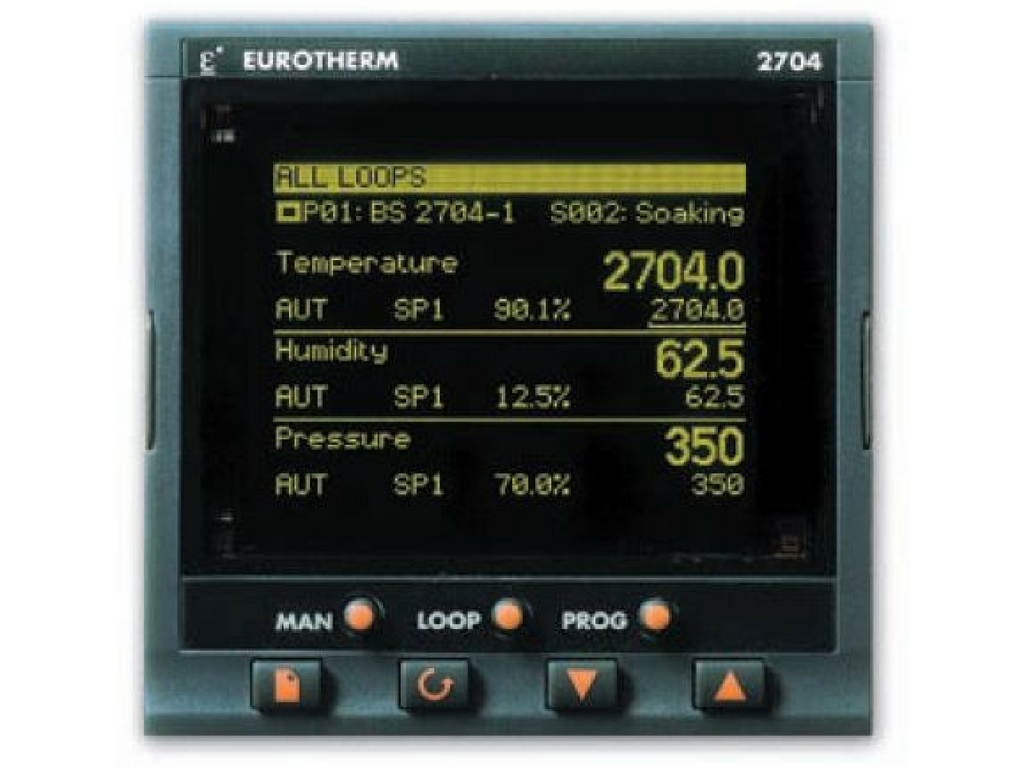 Eurotherm 2704 Advanced Process Controller Programmer
