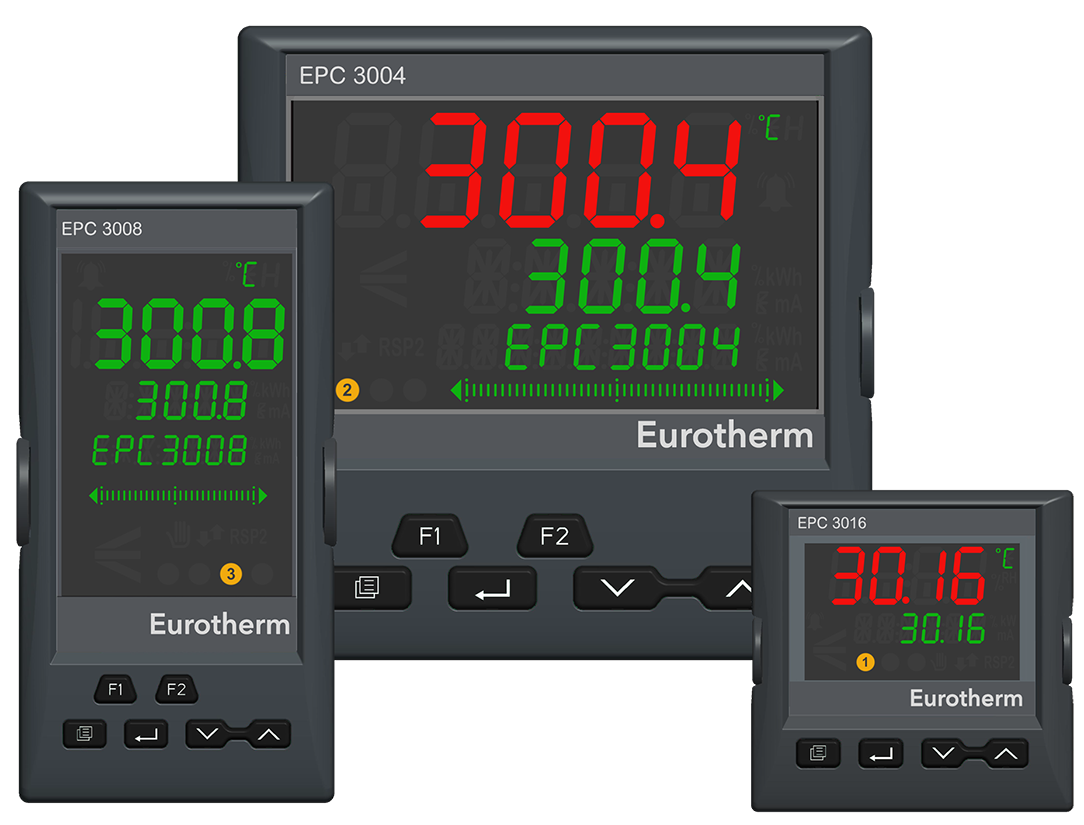 Adavnced PID controllers for precision control of heating elements