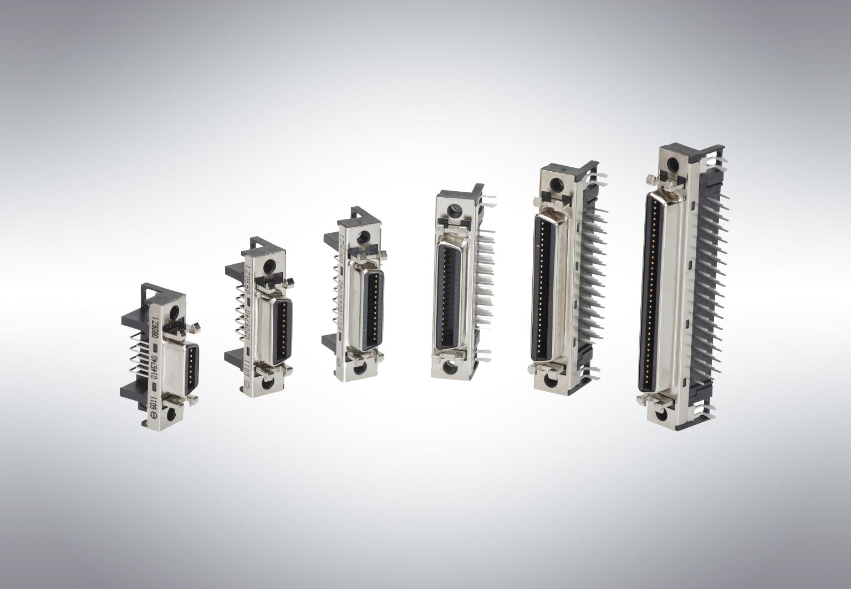 Industrial D-sub connectors