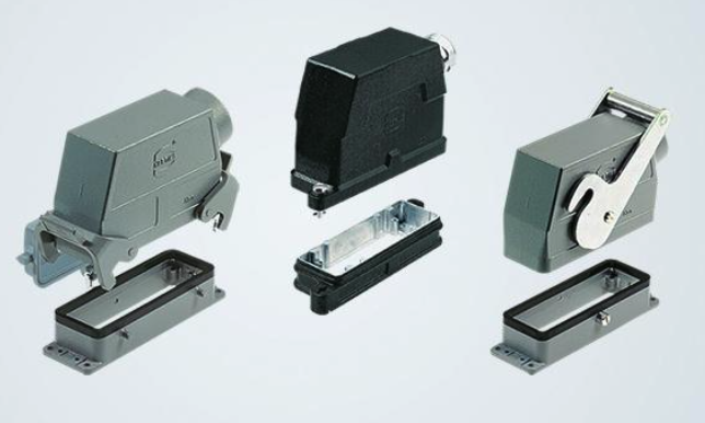Industrial modular connector locking systems