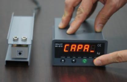 Load Cell Indicator Calibration Procedure