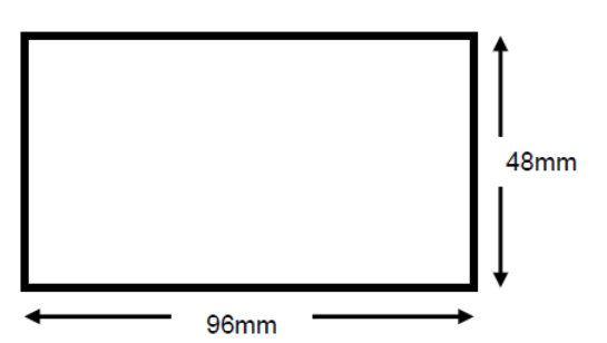 Load Cell Indicator Panel Cut Out