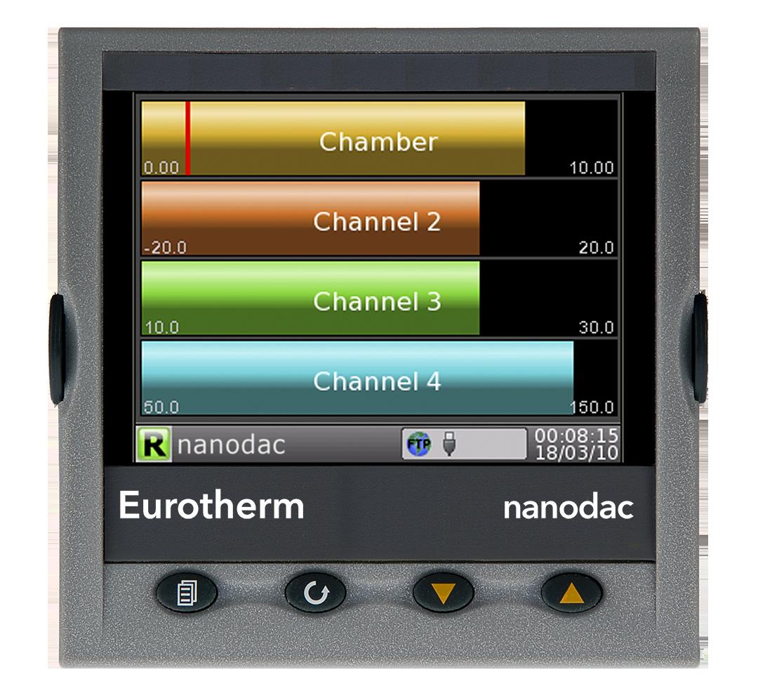 Eurotherm Nanodac display example 3