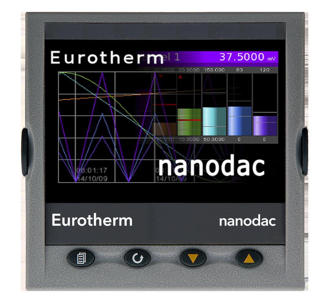 Eurotherm Nanodac display example 4