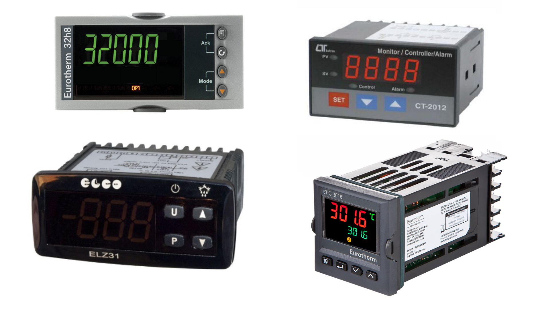 Process controllers and displays for liquid level measurement