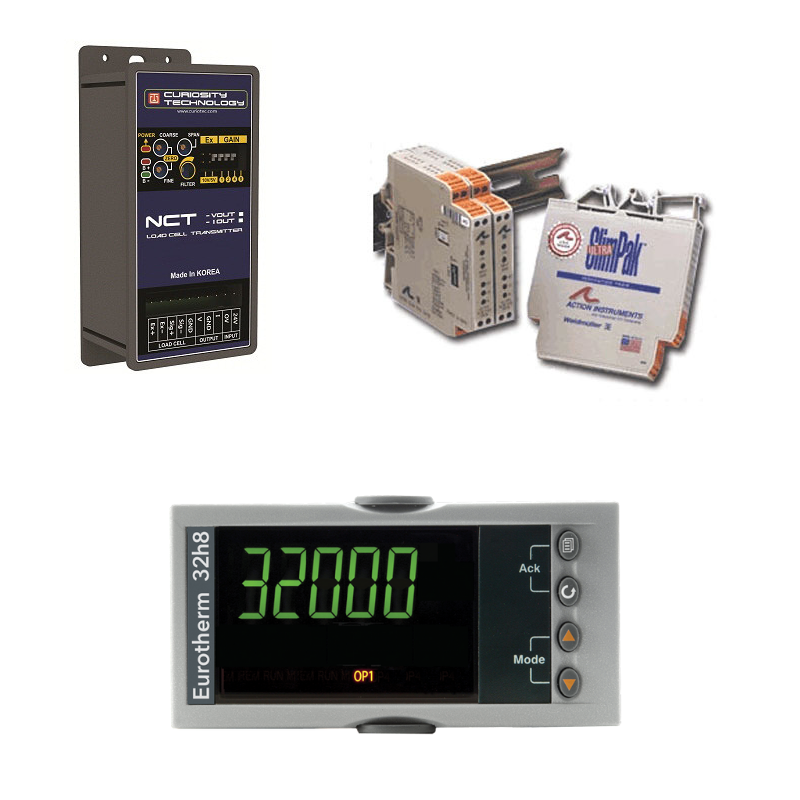 load cell displays and transmitters
