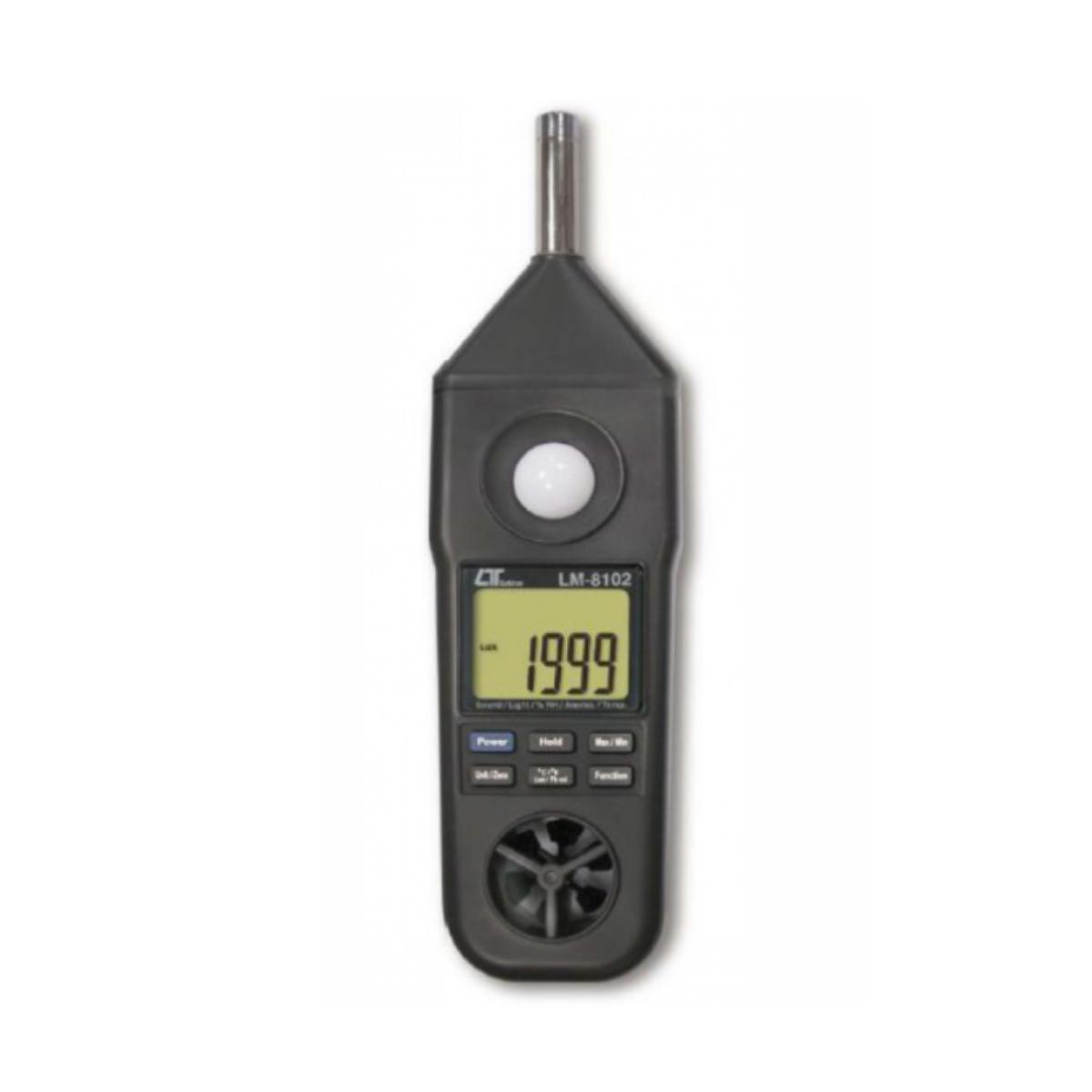 LUTRON LM-8102 5-IN-1 ENVIRONMENTAL METER