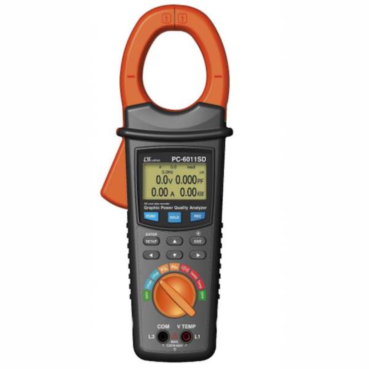 Lutron PC-6011SD Clamp power analyser