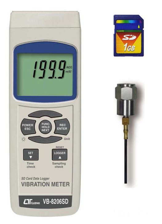 Lutron VB-8206SD Vibration Monitor