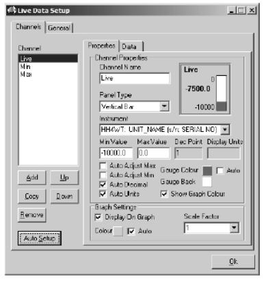 Software for load cell meter