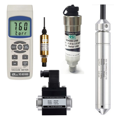 pressure sensing and measurement