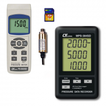 hand held pressure and vacuum meters