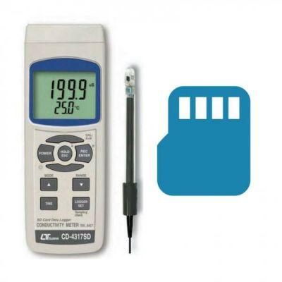 LUTRON CD-4317SD Conductivity Meter