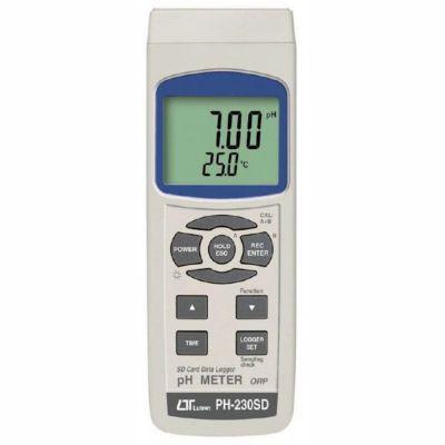 LUTRON PH-230SD pH METER with SD card datalogger