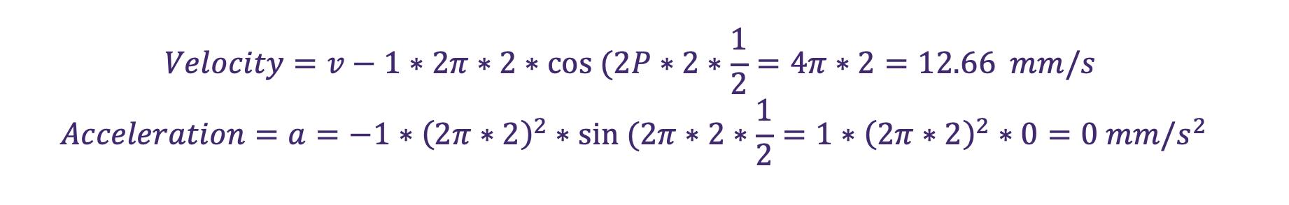 vibration monitoring equation 10