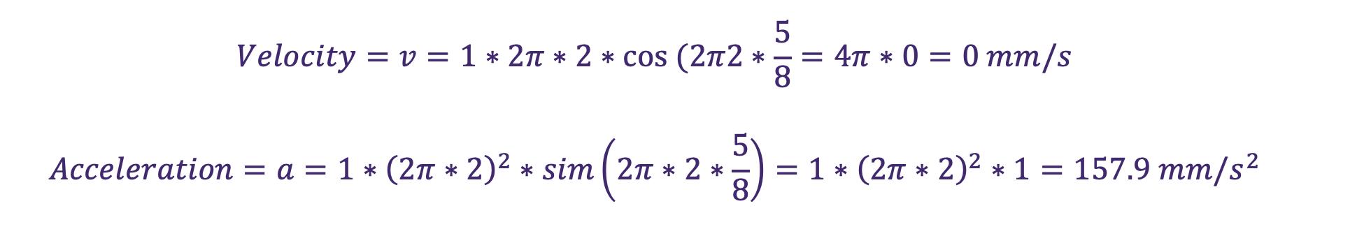 Vibration monitoring equation 12
