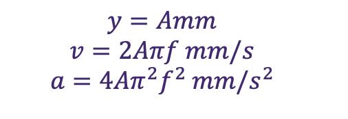 vibration monitoring equation 5