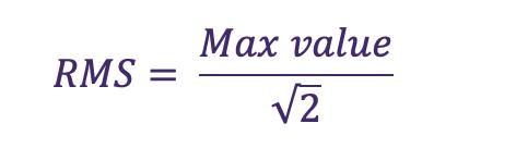 vibration monitoring equation 8