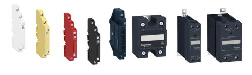 Zelio relays in stock by Schneider Electric